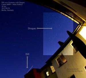 ISS und Dragon