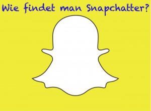 Wie findet man Snapchatter?